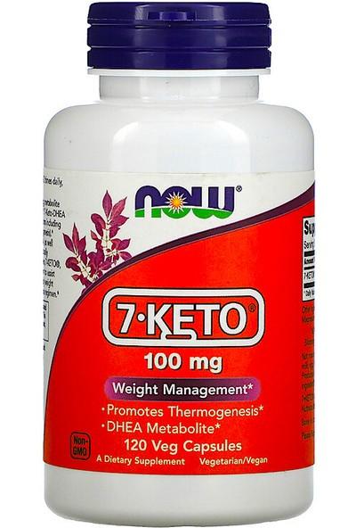 Now, 7-Keto, 100 Mg, 120 Veg Capsules