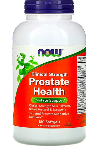Now, Clinical Strength Prostate Health, 180 Softgels