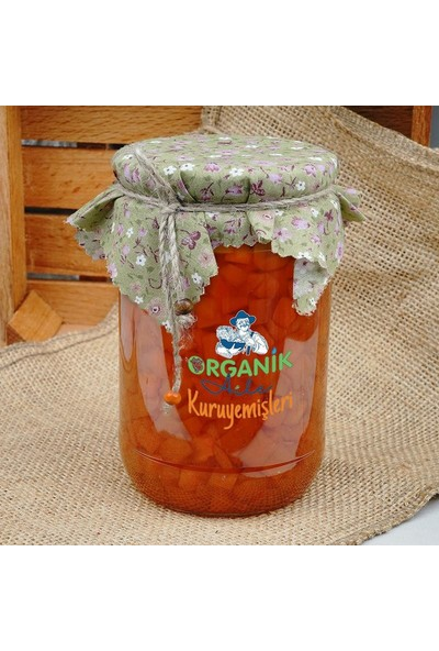 Organik Aile Havuç Reçeli 720 gr