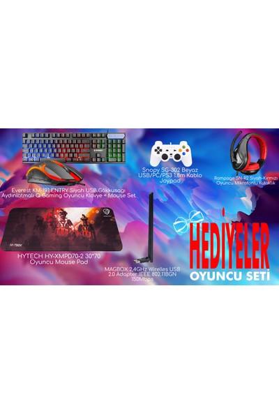 """Ramtech DG40 Intel Core i5 2500 1TB + 240GB Sdd GTX 750 Ti Freedos 27"""" Masaüstü Bilgisayar"""