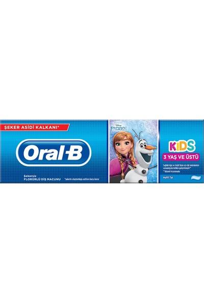 Oral-B Çocuk Diş Macunu Frozen & Cars 3+ Yaş 75 ml