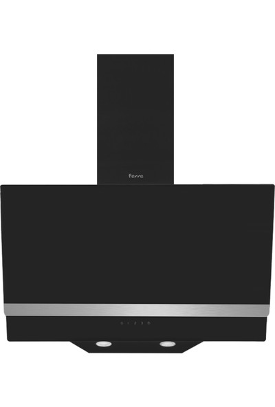 Ferre Black Strap 3'lü Ankastre SET(6006 FIRIN+S2140 Ocak+ D025 Davlumbaz)