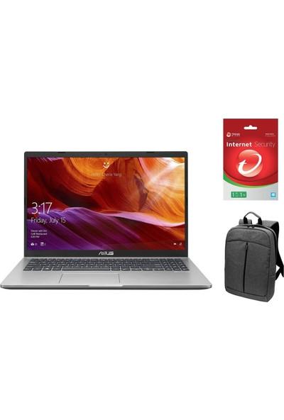 "Asus D509DJ-EJ119Z53 AMD Ryzen 7 3700U 8GB 256GB SSD MX230 Windows 10 Pro 15.6"" FHD Taşınabilir Bilgisayar + Çanta+Internet Security"