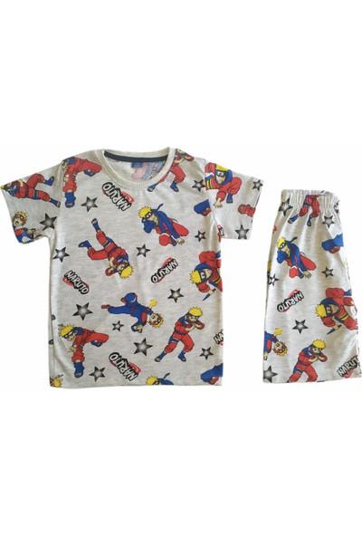 Erkek Çocuk Pijama Takımı Şortlu