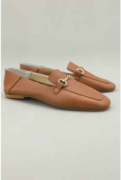 Estrella Günlük Nefes Alır Taba Kadın Ayakkabı EST-0035