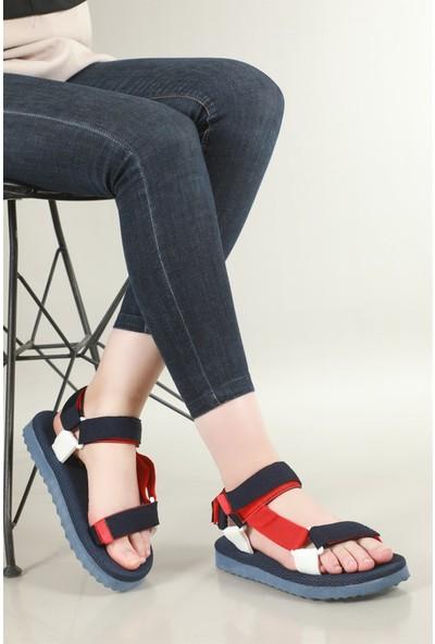 Rahat Taban Laci Kırmızı Sandalet Paı