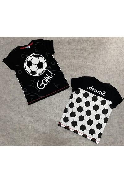 Mackays Karia Kids Fotbol Top Detayı T-Shirt
