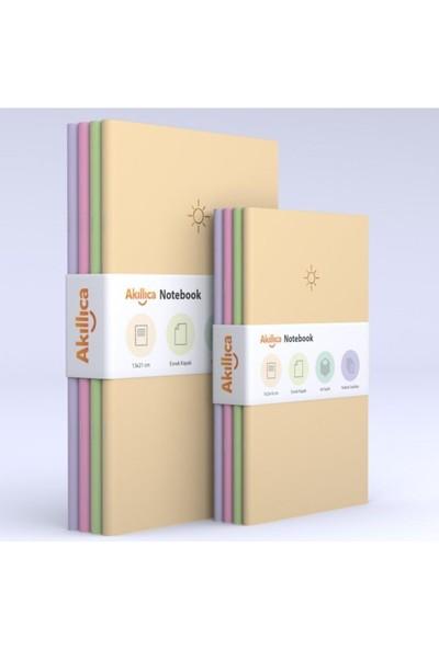 Akıllıca 8'li Defter Set Noktalı Soft Pastel Notebook