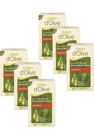 Dalan 6'lı Zeytinyağlı Masaj Antiselülit Sabunu 150 gr