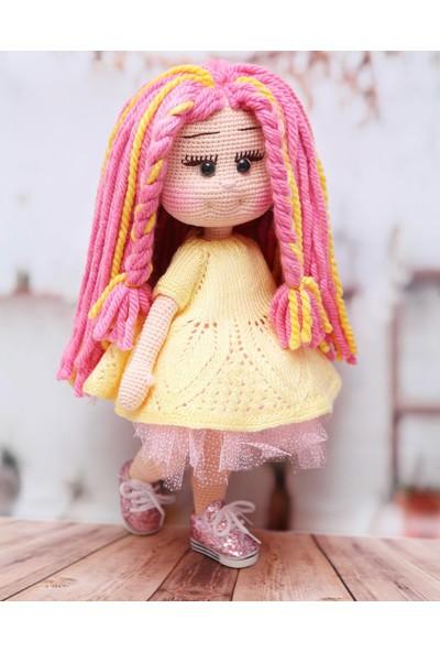 Patis Tasarım Amigurumi Çilekli Limonata Kız
