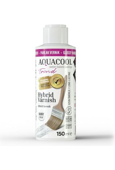 Aquacool Trend Hybrid Varnish Hobi Boyası Su Bazlı Hibrit Vernik 150 ml Parlak