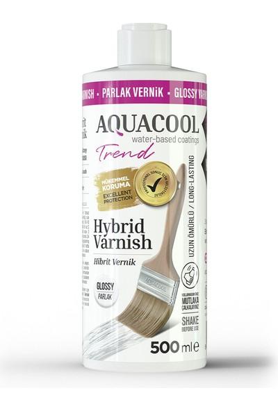 Aquacool Trend Hybrid Varnish Hobi Boyası Su Bazlı Hibrit Vernik 500 ml Parlak
