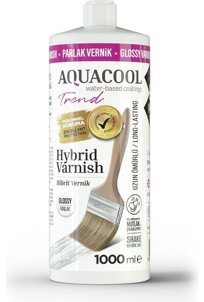 Aquacool Trend Hybrid Varnish Hobi Boyası Su Bazlı Hibrit Vernik 1000 ml Parlak