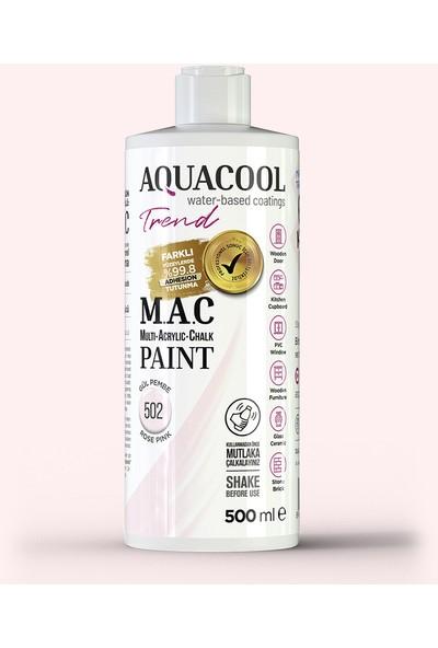 Aquacool Trend M.a.c Hobi Boyası Su Bazlı Akrilik 500 ml 502 - Gül Pembe