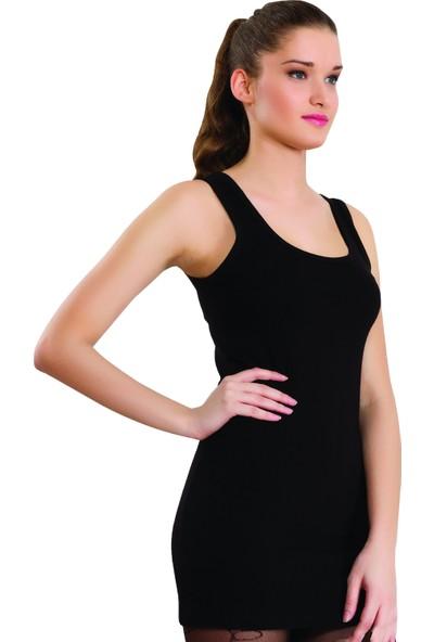 Dono 2228 Kadın Geniş Askılı Uzun Body Atlet