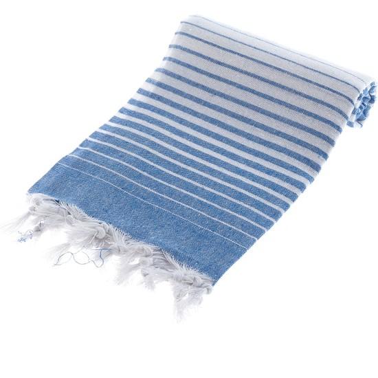 Homedius Alagra Mavi 100x170 cm Pamuk Peştemal