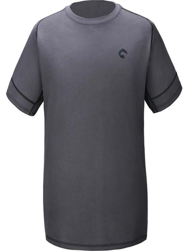 Panthzer Malavi Erkek Tişört Gri