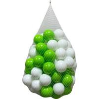 Jusso Havuz Topu 6cm 100LÜ - Yeşil Beyaz