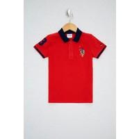 U.S. Polo Assn. Kırmızı T Shirt Basic 50232278-VR097