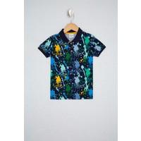U.S. Polo Assn. Lacivert Çocuk T-Shirt 50238414-VR033