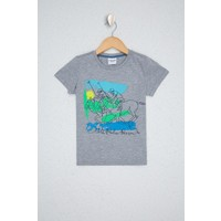 U.S. Polo Assn. Gri T-Shirt 50238502-VR086