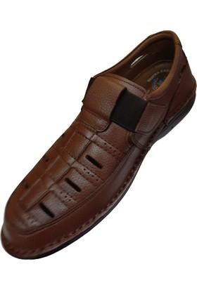 Alme Deri Delikli Yazlık Ayakkabı