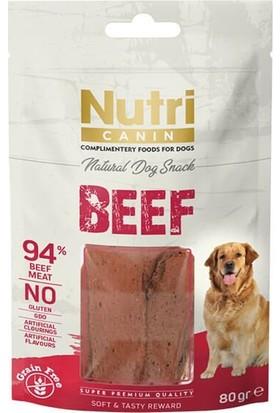 Nutri Canin Sığır Etli Tahılsız Köpek Ödül Maması 80 gr