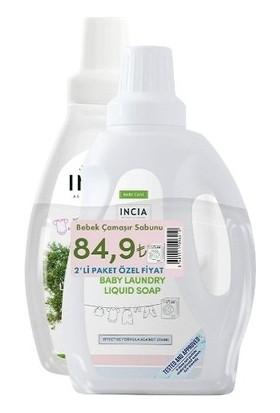 Incia Natural Bebek Çamaşır Sabunu 750 ml - 1 Alana 1 Bedava