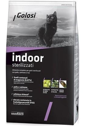 Golosi Indoor Somonlu Pirinçli Kısırlaştırılmış Kedi Maması 7.5 kg