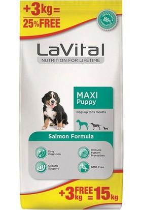 La Vital Lavital Büyük Irk Somonlu Yavru Köpek Maması 12+3 kg