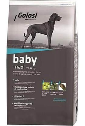 Golosi Baby Maxi Tavuklu Büyük Irk Yavru Köpek Maması 12 kg