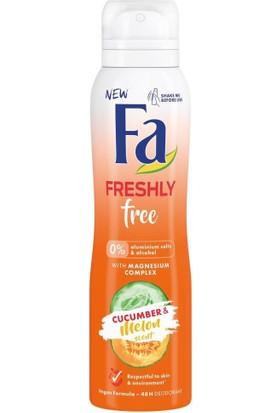 Freshly Free Salatalık & Kavun Roll-On 50 ml + Deosprey 150 ml