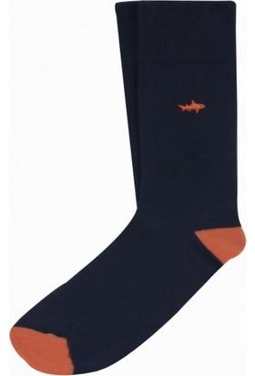 Cream Balık Figürlü Erkek Soket Çorap 40-45 BC3069LC
