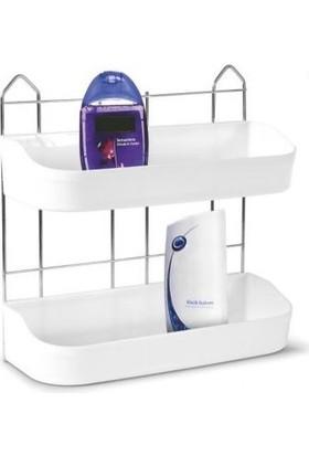 Vizyon Universal Banyo Rafı 2'li