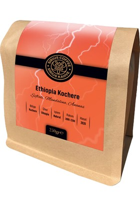 Sirius Coffee Ethiopia Yirgacheffe Koke Pieking 250 gr
