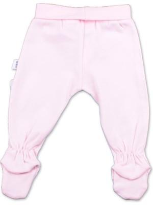 Albimini Minidamla Penye Patikli Pantolon 43002 Pembe