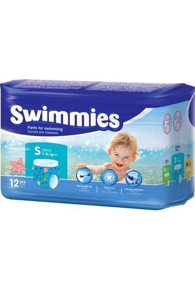 Swimmies Mayo Bebek Bezi Small-Küçük 7-13KG 216 'lı (18 Li Set)