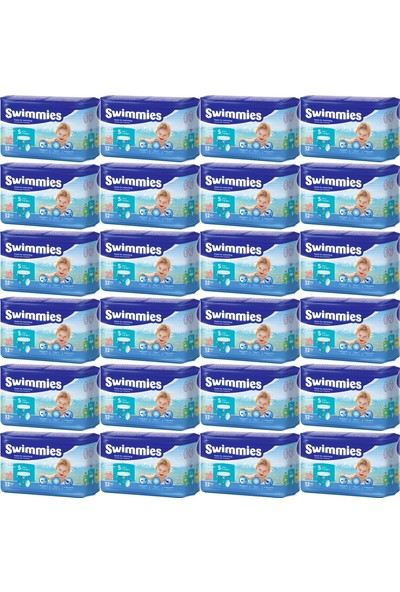 Swimmies Mayo Bebek Bezi Small-Küçük 7-13KG 288 Adet (24 Lü Set)