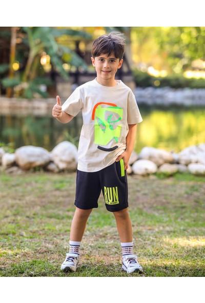 Jack Lions Erkek Çocuk Penye Şort Tshirt Takım