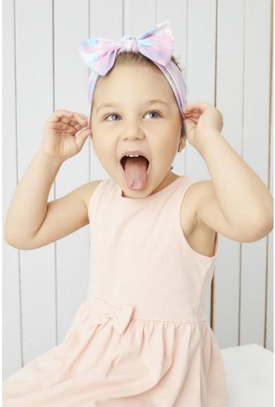 Babygiz El Yapımı Yumuşak Fiyonk Bağlamalı Doğal Pamuklu Penye Bebek Çocuk Kız Bandana Best Of Serisi