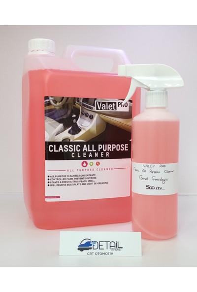 Valet Pro Classic All Purpose Genel Temizleyici 500 ml Bölünmüş Ürün