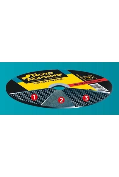 Novo Metal + Inox Kesme Taşı 125 X 1,2 X 22.23 10 Adet