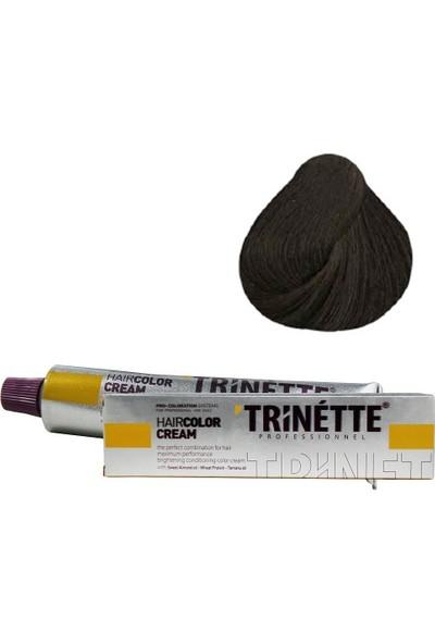 Trinette Tüp Boya 6.0 Yoğun Koyu Kumral 60 ml