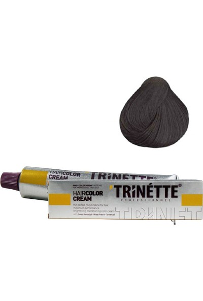 Trinette Tüp Boya 5 Açık Kestane 60 ml
