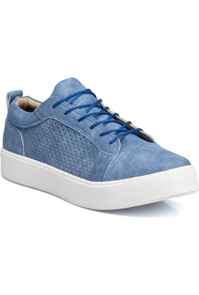 Teryy Mavi Vegan Erkek Ayakkabı 110038K67