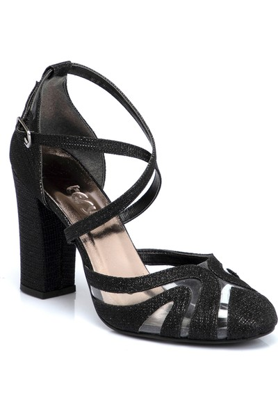 Teryy Siyah Vegan Kadın Ayakkabı 210127B1P