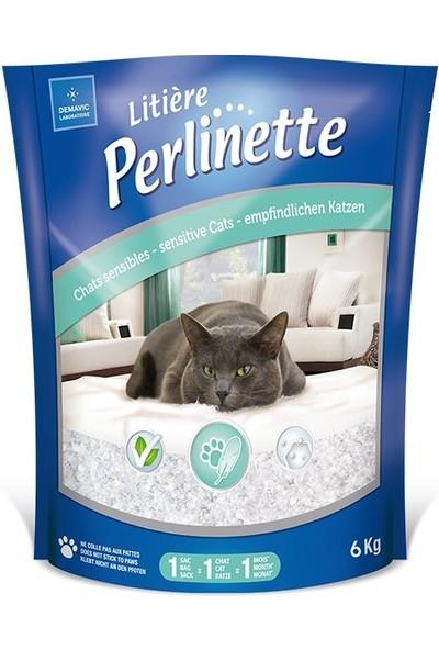 Perlinette Cat Adult Sensitive Hassas Kristal Kedi Kumu 6 kg 14.8 Lt