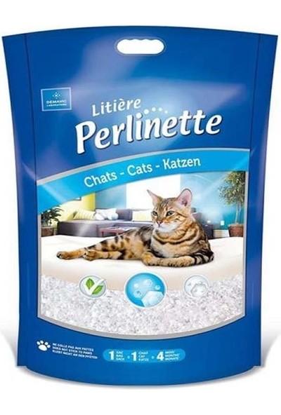 Perlinette Cat Irregular Kalın Taneli Silica Kedi Kumu 1.8 kg 4.4 Lt