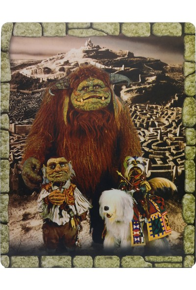 Labyrinth 30TH Anniversary - Labirent - 4K + Bluray - 2 Disk Limited Edition Steelbook