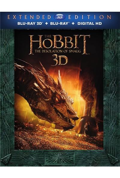 The Hobbit The Desolation Of Smaug Extented - Hobbit Smaug'un Çorak Toprakları - 3D + 2d - 5 Disk Bluray